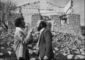 """Ludovico Caldarera e Giuseppe Ribaudo in """"Un sogno di lumaca"""""""