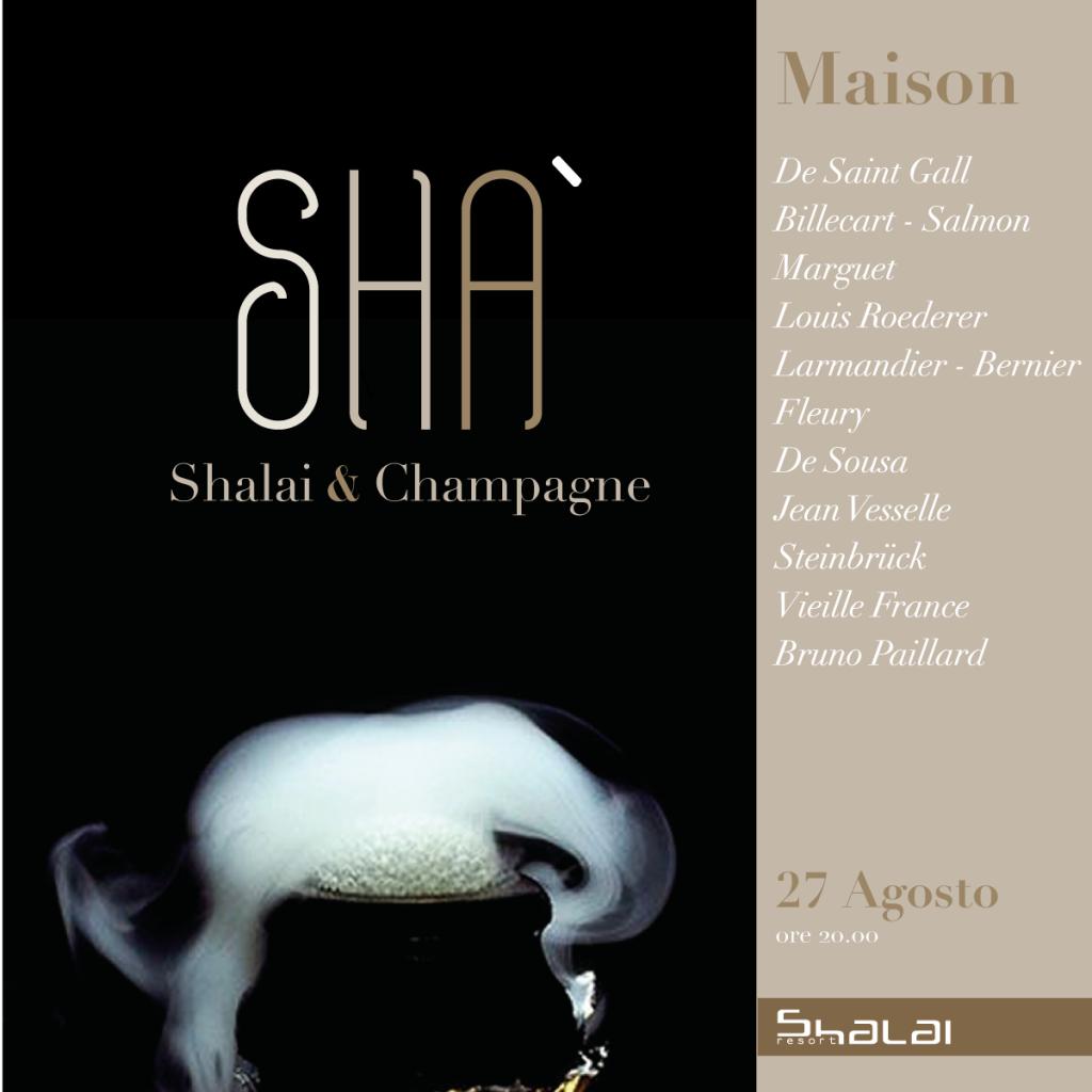 Undici Champagne allo Shalai di Linguaglossa