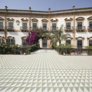 il fronte di Palazzo Butera