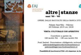 Fai Palermo, Palazzo Sant'Elia, Altre Stanze anni '50 e '60