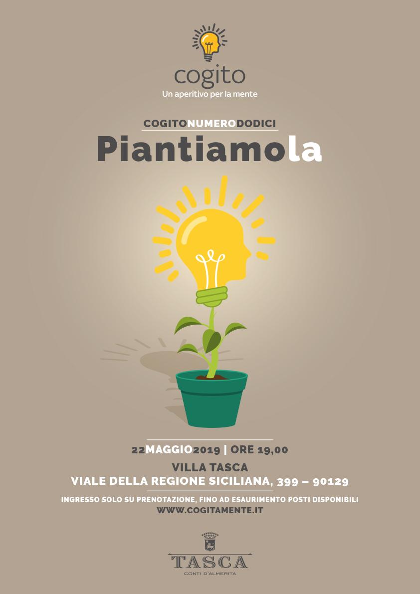 Piantiamola, la Cogitazione del 22 maggio a Villa Tasca / Palermo