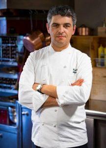 Lo chef Carmelo Floridia