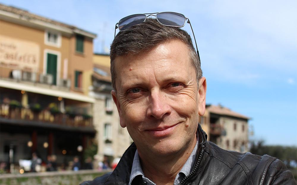 il giornalista Christian Eder