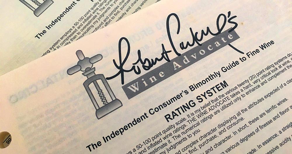 Robert M. Parker Jr. di Wine Advocate