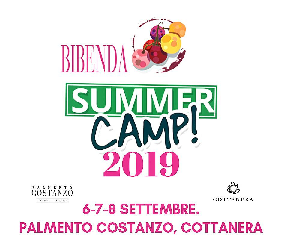 Bibenda Summer Camp 2019 Sicilia