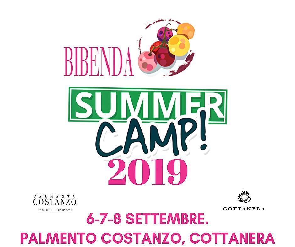 Bibenda Summer Camp 2019 Sicilia