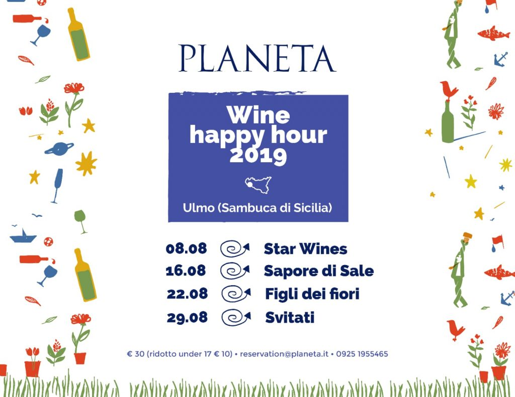 Planeta Wine Happy Hour 2019