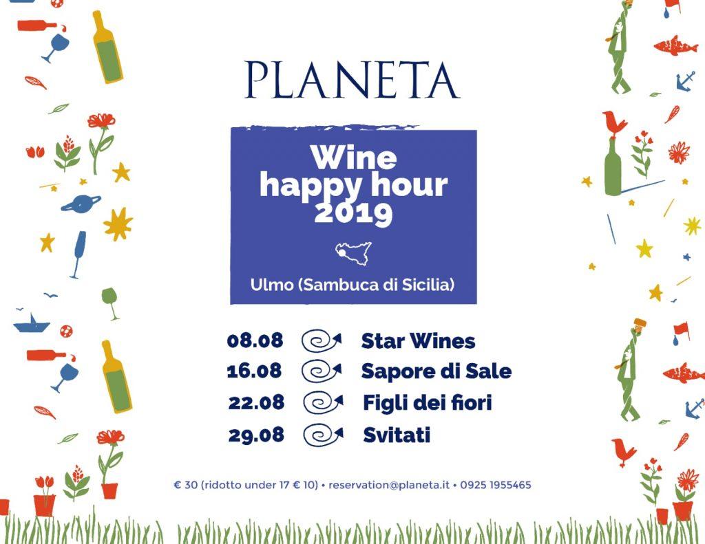 Planeta Wine Happy Hour 2019